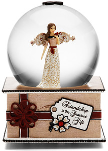 Friendship by Modeles Holiday - Musical Water Globe
