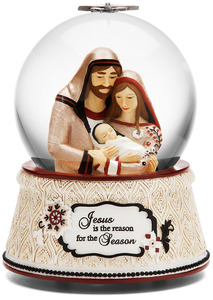 Jesus is the Reason by Modeles Holiday - Musical Water Globe
