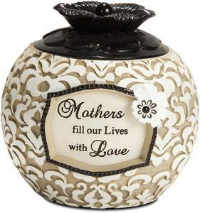 "Mother by Modeles - 3"" Round Candle Holder"