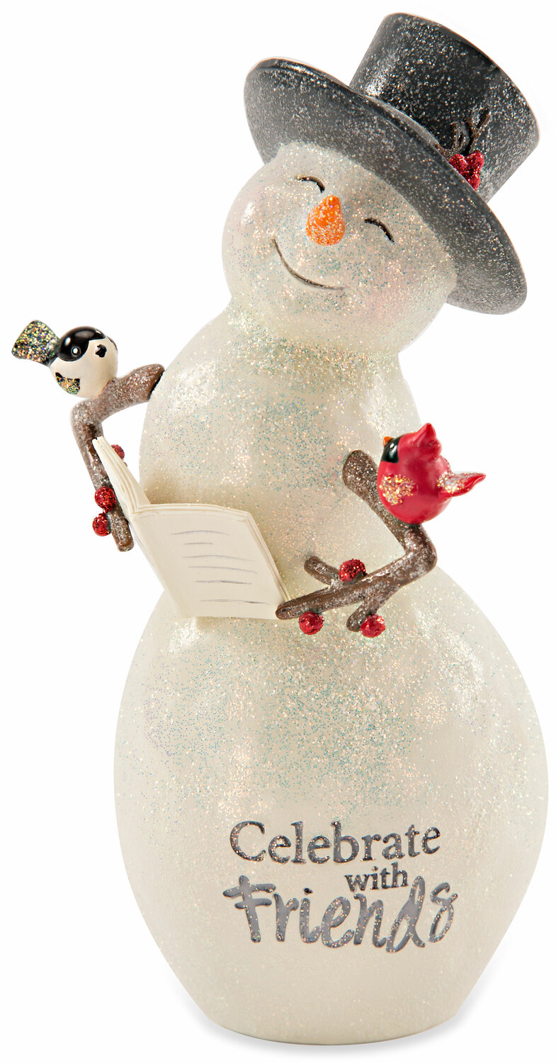 Celebrate by Berry and Bright - Celebrate - 6'' Snowman with Book