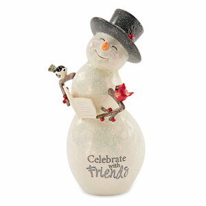 Celebrate by Berry and Bright - 6'' Snowman with Book