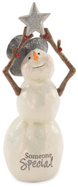"Someone Special by Berry and Bright - 6"" Snowman with Star"