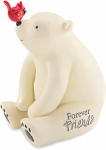 "Friends by Berry and Bright - 5"" Polar Bear"