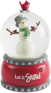 Snow by Berry and Bright - 100mm Musical Water Globe