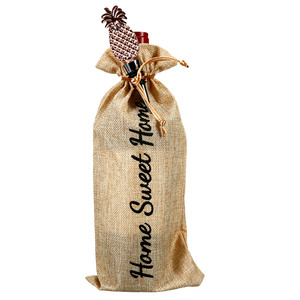 "Home by Hostess with the Mostess - 13.5"" Wine Gift Bag Set"