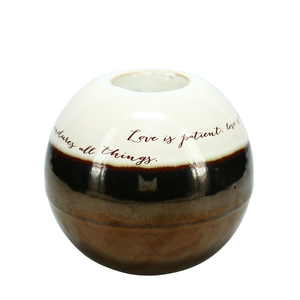 "Love by Hostess with the Mostess - 4.5"" Decorative Tea Light Holder"