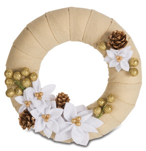 "Holiday Glitter by Signs of Happiness - 6"" Wreath"