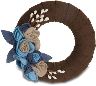 "Mocha by Signs of Happiness - 6"" Wreath"