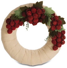 "Napa Valley by Signs of Happiness - 6"" Wreath"