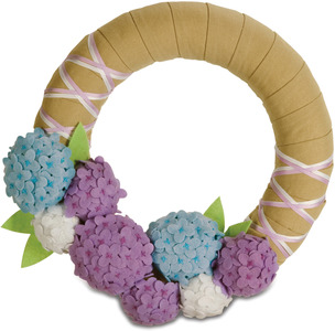 "Spring Blossoms by Signs of Happiness - 11"" Wreath"