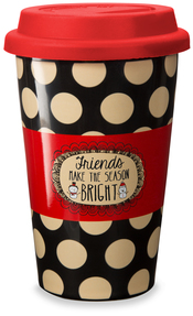 Friends by Snow Pals - 11 oz Travel Mug