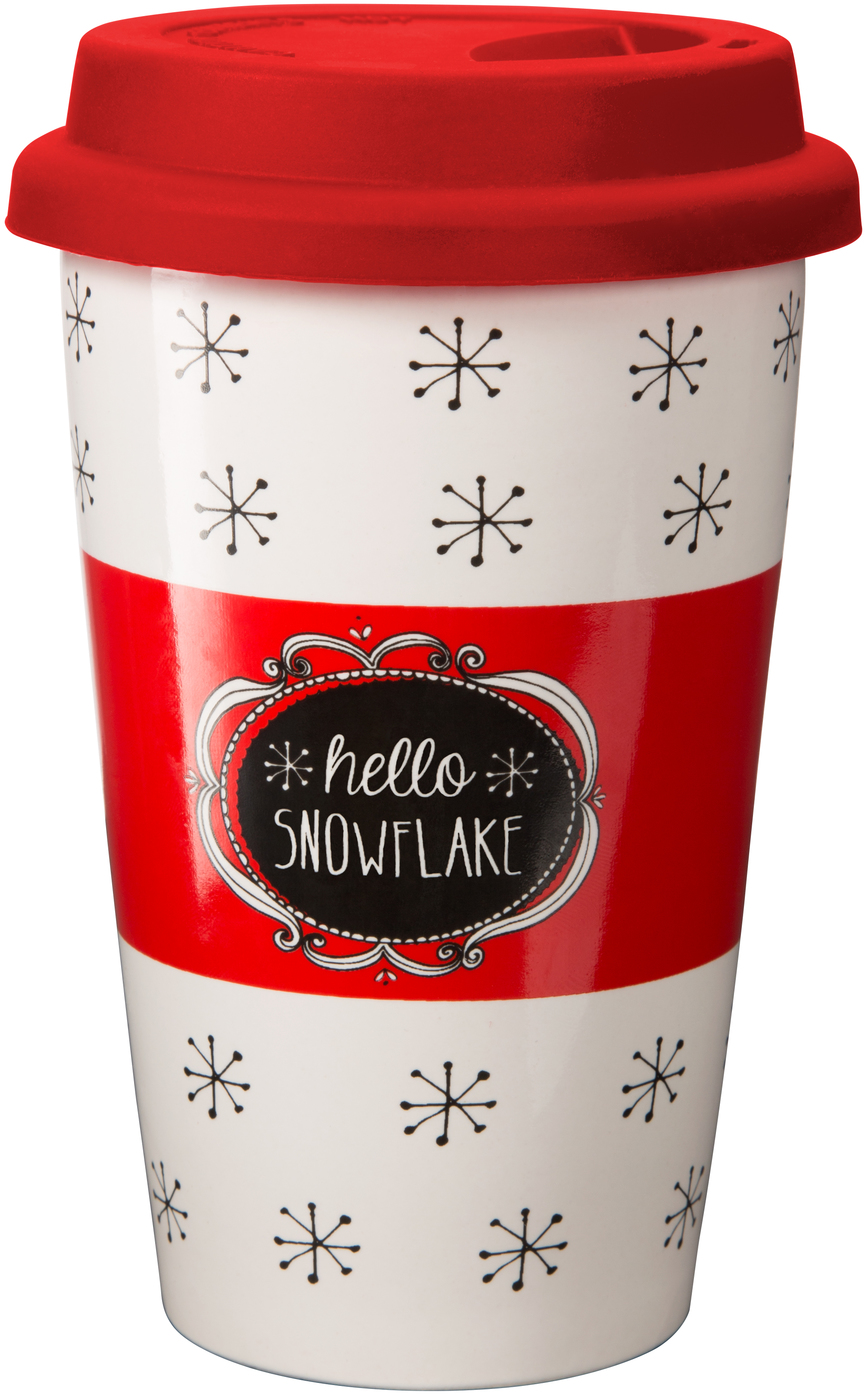 Snowflake by Snow Pals - Snowflake - 11 oz Travel Mug