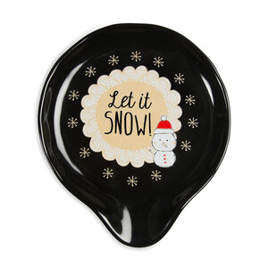 "Let it Snow! by Snow Pals - 5"" Spoon Rest"