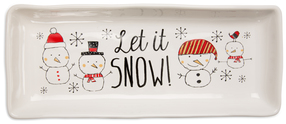 "Let it Snow! by Snow Pals - 11""x4.5"" Tray"