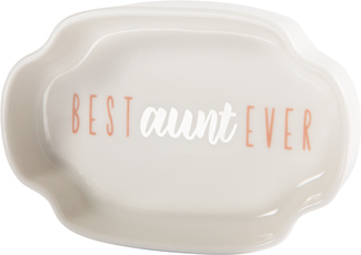 "Aunt by Best Kept Trinkets - 4"" Trinket Dish"