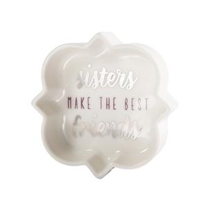 "Sisters by Best Kept Trinkets - 3"" Trinket Dish"