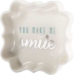 "Smile by Best Kept Trinkets - 3"" Trinket Dish"