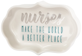 "Nurses by Best Kept Trinkets - 4"" Trinket Dish"