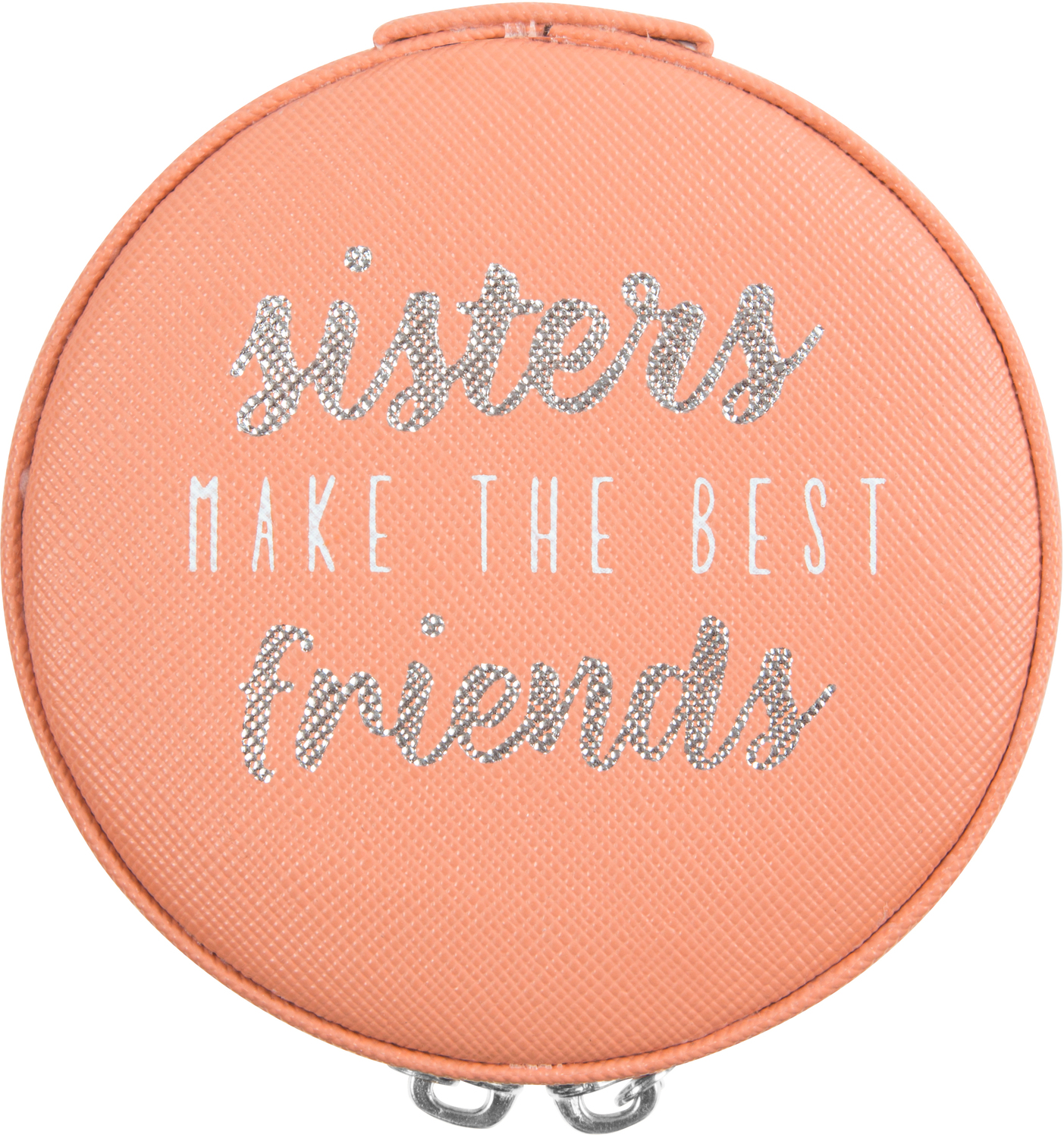 "Sisters by Best Kept Trinkets - Sisters - 3.5"" Zippered Jewelry Case"