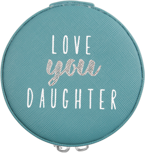"Daughter by Best Kept Trinkets - 3.5"" Zippered Jewelry Case"