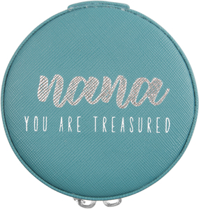 "Nana by Best Kept Trinkets - 3.5"" Zippered Jewelry Case"