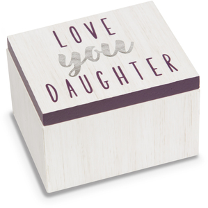 Daughter by Best Kept Trinkets - 2.25 x 1.2 x 1.5 MDF Trinket  Box