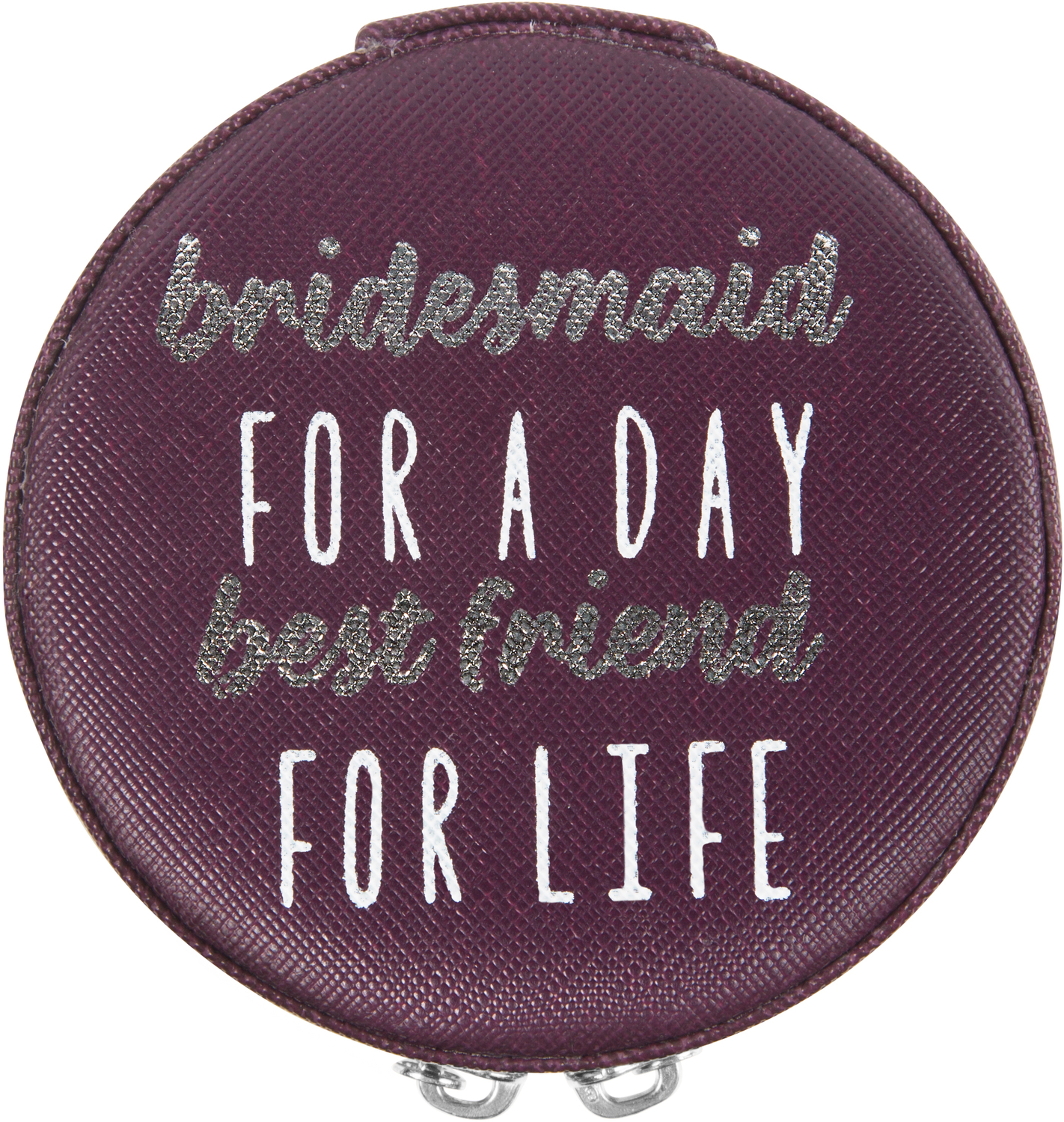 "Bridesmaid by Best Kept Trinkets - Bridesmaid - 3.5"" Zippered Jewelry Case"