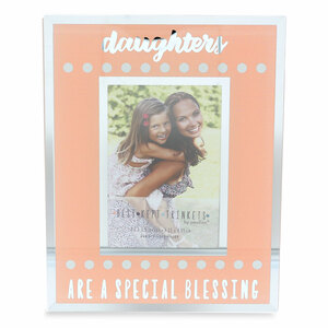 "Daughters by Best Kept Trinkets - 4.75"" X 6"" Frame (Holds a 2.5"" X 3.5"" Photo)"