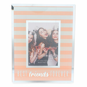 "Best Friends by Best Kept Trinkets - 4.75"" X 6"" Frame (Holds a 2.5"" X 3.5"" Photo)"
