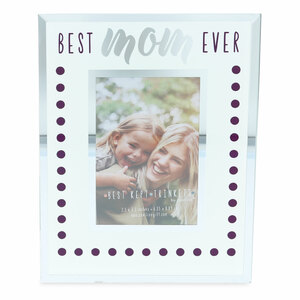 "Mom by Best Kept Trinkets - 4.75"" X 6"" Frame (Holds a 2.5"" X 3.5"" Photo)"