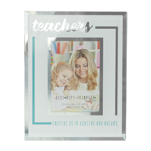 "Teachers by Best Kept Trinkets - 4.75"" X 6"" Frame (Holds a 2.5"" X 3.5"" Photo)"