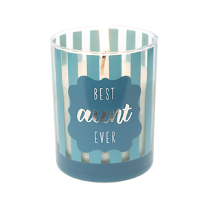 Aunt by Best Kept Trinkets - 7 oz 100% Soy Wax Candle, Scent: Serenity