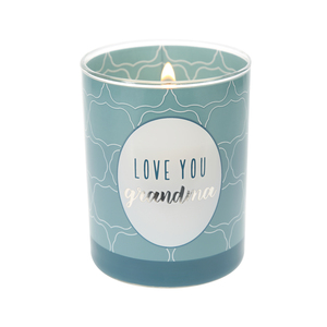 Grandma by Best Kept Trinkets - 7 oz 100% Soy Wax Candle, Scent: Serenity