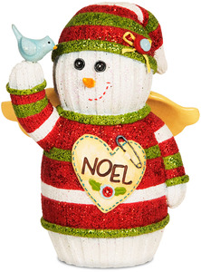 "Noel by The Sockings - 5"" Snowman Angel"