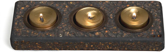"Mosaic (3) by Fragments - 3.25"" x 8.25"" TeaLight Tray"