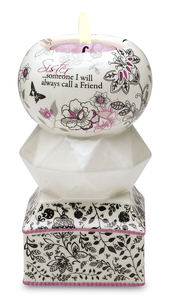 "Sister by UpWords - 5.5"" Tea Light Holder"