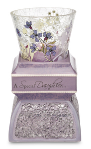 "Daughter by UpWords - 5.5"" Tea Light Holder"