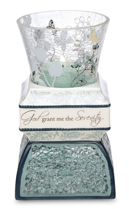 "Serenity by UpWords - 5.5"" Tea Light Holder"