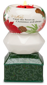 "Mother by UpWords - 5.5"" Holiday TeaLight Holder"