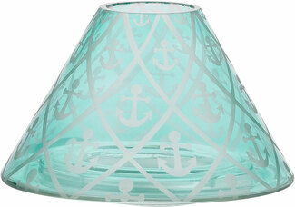 Anchors Away by Candle Decor - Large Candle Shade
