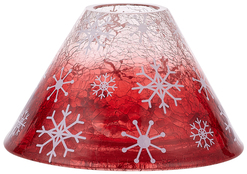 Holiday Hoopla by Candle Decor - Large Candle Shade