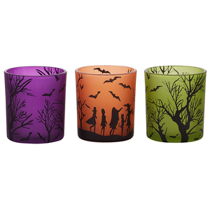 Trick or Treat by Candle Decor - 3 Assorted Votive Holders