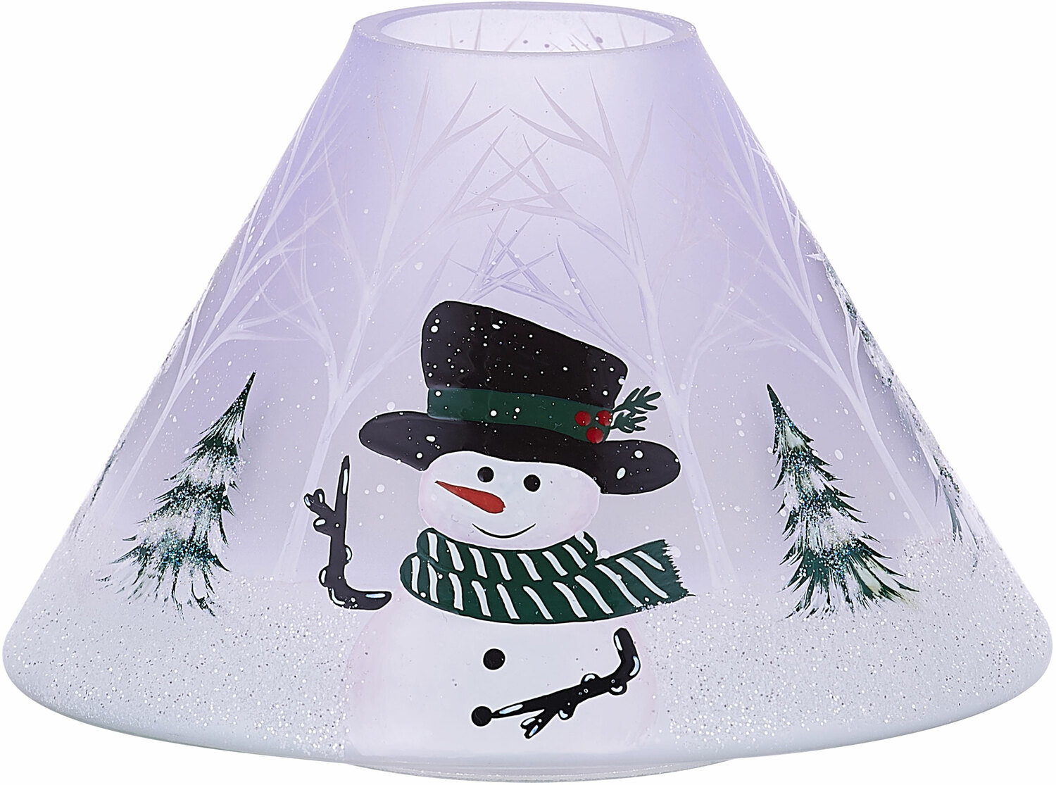 Snowman by Candle Decor - Snowman - Large Candle Shade