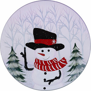 Snowman by Candle Decor - Candle Tray