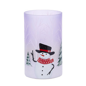 Snowman by Candle Decor - Jar Candle Holder