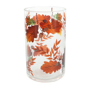 Harvest Leaves by Candle Decor - Jar Candle Holder