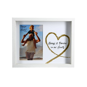 "Hearts by Forever in our Hearts - 9.5"" x 7.5"" Shadow Box Frame (Holds 4"" x 6"" Photo)"
