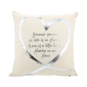 "Heaven by Forever in our Hearts - 16"" Pillow"