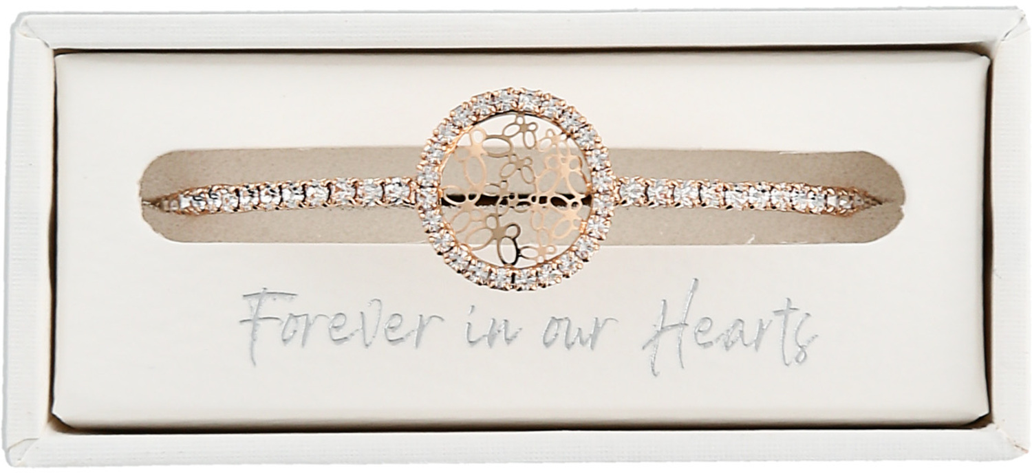 Memory by Forever in our Hearts - Memory - Gold Butterfly Bracelet