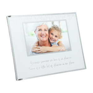 "Heaven by Forever in our Hearts - 9.25"" x 7.25"" Frame (Holds 6"" x 4"" Photo)"